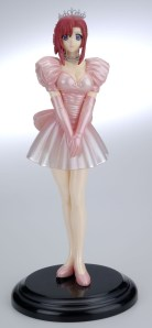 Please! Teacher MIZUHO KAZAMI Pink Wedding Dress PVC Figure