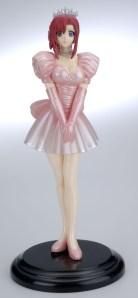 Please! Teacher MIZUHO KAZAMI Pink Wedding Dress PVC Figure