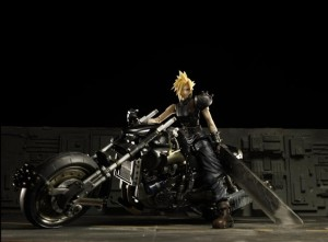 Play Arts Final Fantasy VII CLOUD & HARDY DAYTONA Action Figure
