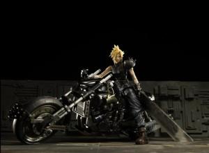 Play Arts Final Fantasy VII CLOUD & HARDY DAYTONA Action Figure