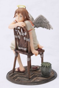 Haibane-Renmei RAKKA with chair PVC Figure