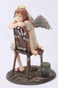 Haibane-Renmei RAKKA with chair PVC Figure