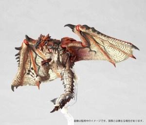 Revoltech Yamaguchi 121 Monster Hunter Rathalos Action Figure Uk